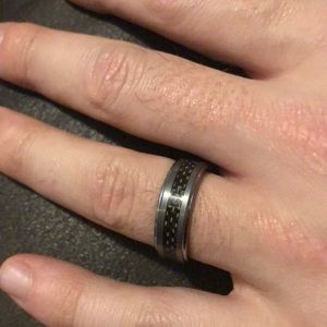 Men's Wedding Band - Size 11